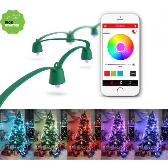 MiPow Playbulb Smart LED String Lights Lichterkette, 10 Meter