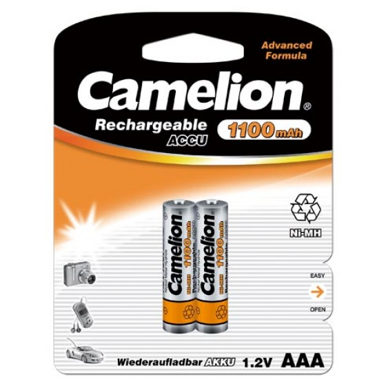 10 x Camelion Micro Akku HR03 1100mAh