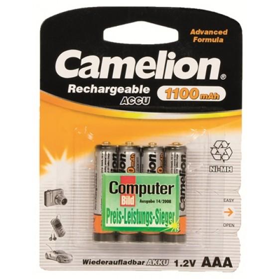 Camelion Micro Akku HR03 1100mAh im 4er-Blister