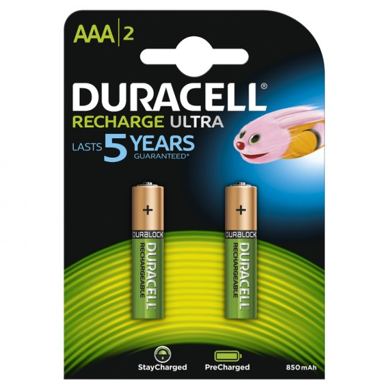 Duracell Micro-Akku Recharge Ultra DX2400 (850mAh) in 2er-Blister