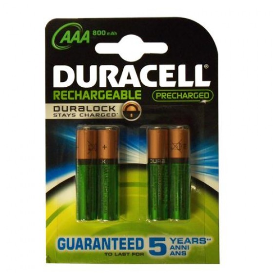 Duracell Micro-Akku Precharged DX2400 (850mAh) in 4er-Blister