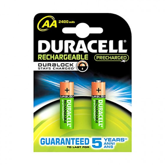 Duracell Mignon-Akku Recharge Ultra DX1500 (2500mAh) Precharged  in 2er-Blister