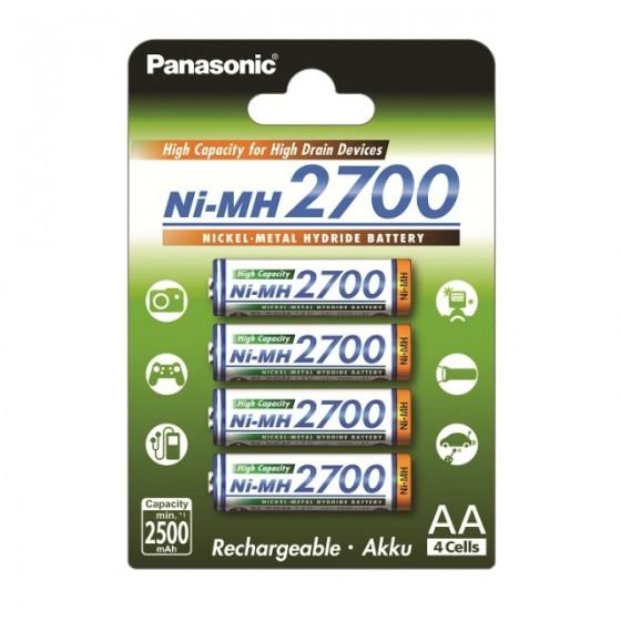 Panasonic Mignon Akku BK-3HGAE/4BE 2700mAh im 4er-Blister