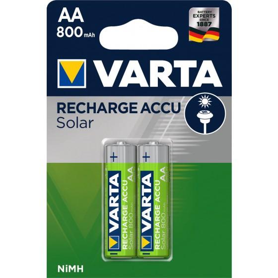 Varta Solar Mignon-Akku 56736 101 402 (800mAh)  in 2er-Blister