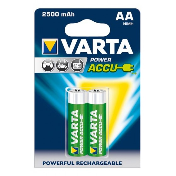 Varta Mignon-Akku 56756 101 402 (2400mAh) 1,2V in 2er-Blister
