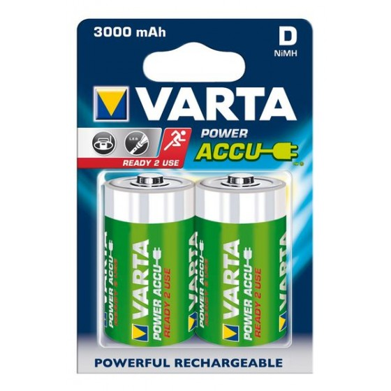 Varta Mono-Akku 56720 101 402 (3000mAh) 1,2V Ready2use in 2er-Blister