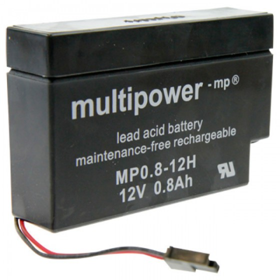 Multipower MP0,8-12H  Bleiakku 12V 0,8Ah
