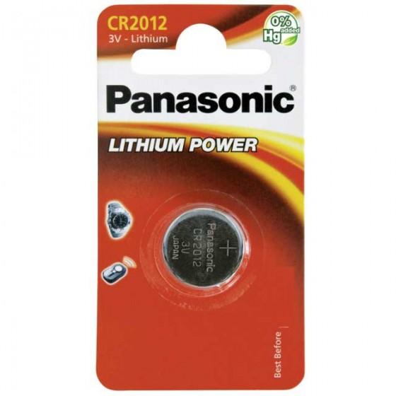 Panasonic CR2012 3V Lithium in 1er-Blister