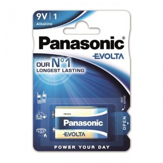 Panasonic Evolta 9V Block 6LR61 in 1er-Blister