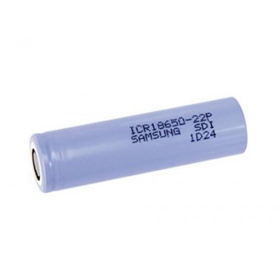 Samsung hochstromfähige Lithium Ionen ICR18650-22P 2150mAh, einzeln