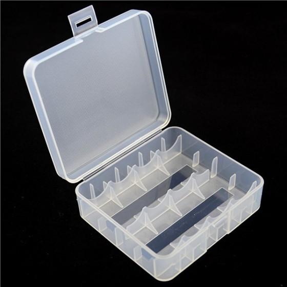 Batteriebox D1 für 4x 18650 oder 2x 26650 Li-Ion-Akkus