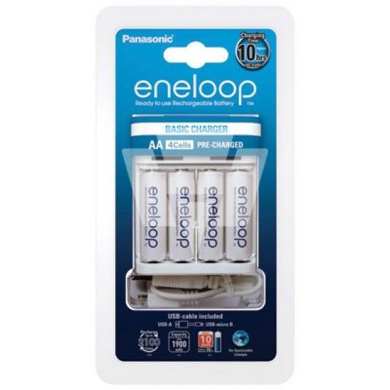 Eneloop Charger USB BQ-CC61 inkl. 4x BK-3MCCE AA 1900mAh, Nr. 52061042