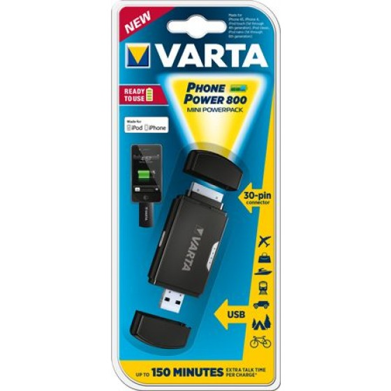 VARTA Phone Power 800 Apple 30-Pin 57922 101 401