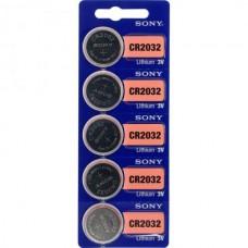 Sony CR2032 3V Lithium Battery im 5er-Blister 220mAh
