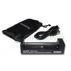 4 x Samsung 25R + Xtar MC4S + Box + Adapter 2,1A