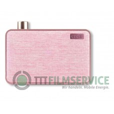 Emie Canvas Bluetooth Speaker pink