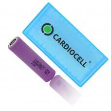 1x Samsung INR18650-30Q 3,6V 3000mAh, Lithium Ionen Akku inkl. Cardiocell Box