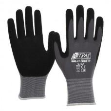 NITRAS 8800 Flexible Fit 1 Paar Gr. 11 grau/schwarz