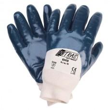 NITRAS 03410 Nitrilhandschuhe 1 Paar Gr. 8 blau
