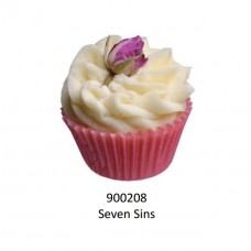 Velvety Bade-Muffin Cupcake Seven Sints