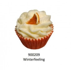 Velvety Bade-Muffin Cupcake Winterfeeling