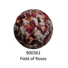 Velvety Bade-Kugel Ball Field of Roses