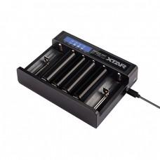 XTAR MC6 QUEEN ANT 6-Schacht USB-Ladegerät