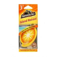 ARMOR ALL Air Freshener Card - Island Retreat 3 Stk GAA17202ML