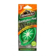 ARMOR ALL Air Freshener Card - Eucalyp Pine 3 Stk GAA17200ML