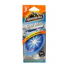 ARMOR ALL Air Freshener Card - Cool Mist 3 Stk. GAA78523ML