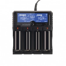 XTAR Ladegerät Dragon VP4 Plus, Premium LCD Li-Ion/Ni-MH Battery Charger