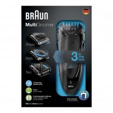 Braun Multigroomer MG5050 Bartschneider Rasierer Trimmer schwarz