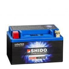 Shido Lithium Motorradbatterie LTX14-BS 12V 4Ah