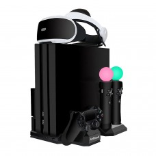 ieGeek PSVR Ladestation, PS4 Pro / PS4 Slim / PS4 [All-in-1]