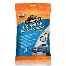 ARMOR ALL Express Wash & Wax Tücher 12 Stück, 20022
