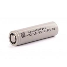 Molicel INR18650-P26A, 2600mAh 35A Li-Ionen-Akku, 3,6V - 3,7V Lithium Ionen Akku