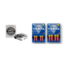 Varta Sales Drive Longlife Max Power + FC Bayern Decke9137 112 857