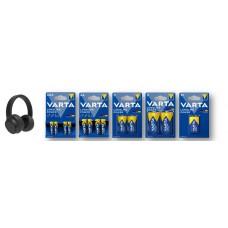 VARTA Sales Drive Longlife Power (klein) + Wireless Kopfhörer  9137 112 860