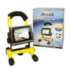 Arcas 10W Akku LED Strahler