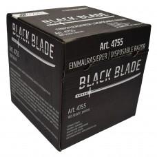 100er-Box NITRAS Einweg-Rasierer, schwarz