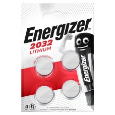 Energizer CR2032 3V Lithium in 4er-Blister