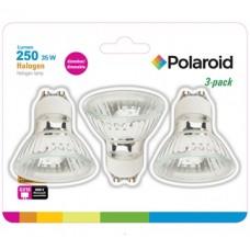 Polaroid Halogenlampe Spot 35W GU10 im 3er-Blister