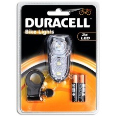 Duracell Bike Lights F02 mit 3 LED inkl. Batterien