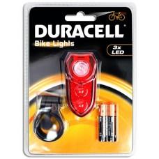 Duracell Bike Lights B02 mit 3 LED inkl. Batterien