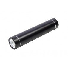 Solutions2Go Powerbank Light schwarz 3000mAh mit LED Licht