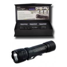 LED-Taschenlampe Leuchtwert JAGDFINDER 11 BLUE in Box
