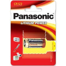Panasonic CR123A 3V Lithium in 1er-Blister