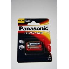 Panasonic CR123A 3V Lithium in 1er-Blister