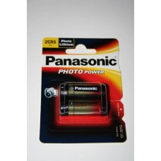 Panasonic 2CR5 6V Lithium in 1er-Blister