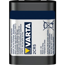 Varta 2CR5 6203 301 401 6V Lithium in 1er-Blister
